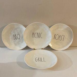 """Rae Dunn 10"""" Dinner Plates Set"""